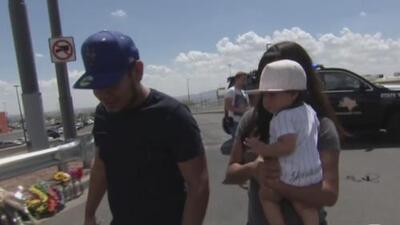 Solo pensaban en salvar a su bebé de 8 meses: pareja hispana relata el pánico con el que huyó del tiroteo en El Paso