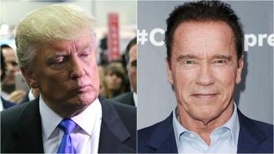 """Arnold Schwarzenegger a las críticas de Trump: """"¿Por qué no intercambiamos trabajos?"""""""