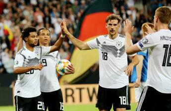En fotos: la paliza sin misericordia de Alemania a Estonia en la Eliminatoria de Eurocopa