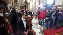 Lo que no viste de la boda de Isabel y Diego