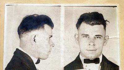 Exhumarán los restos del legendario gánster John Dillinger 85 años después de su muerte