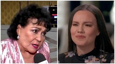 Ni recibiendo una estrella en Las Vegas, Carmen Salinas deja de hablar de la hija menor de José José