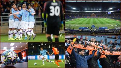 En fotos: Manchester City muy superior al Shakhtar Donetsk