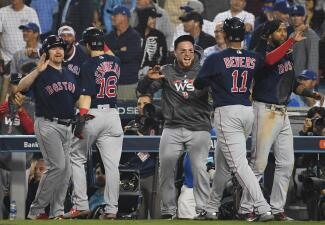 Entrada x entrada: los Red Sox doblegan a los Dodgers y están a un triunfo del título