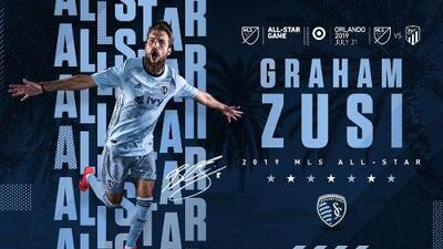 Veterano de Sporting Kansas City es el primer jugador confirmado para el MLS All-Star Game