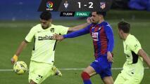 Luis Suárez no perdona errores del Eibar y marca doblete