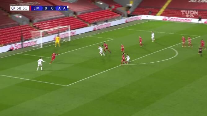 ¡Gol del Atalanta! Ilicic abrió el marcador en Anfield