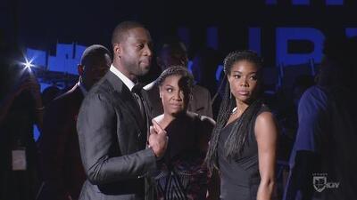 Natalíz estuvo en un evento de moda de la estrella del Miami Heat, Dwayne Wade