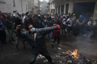 En fotos: Miles protestan en Ecuador contra medidas de austeridad anunciadas por el gobierno