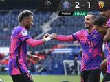 PSG derrota al Lens y le mete presión al Lille, que debe ganar para no perder la cima