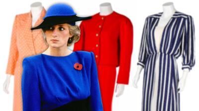 A 22 años de su muerte, subastan tres vestidos de Lady Diana y recaudan mucho más de lo esperado
