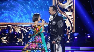 Pepe Aguilar y su hija Angela llegan a Houston