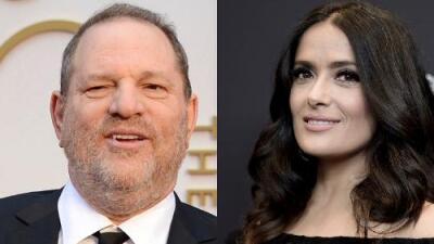 Harvey Weinstein responde a Salma Hayek tras acusarlo de acoso sexual