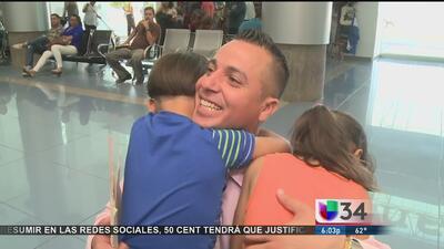 Pasó siete años en Nicaragua por un error, vuelve con su familia