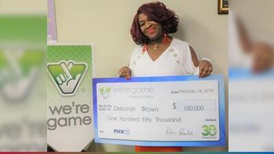Mujer gana la lotería 30 veces en el mismo día