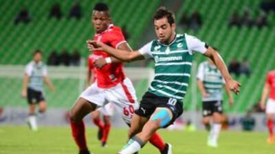 Mineros 1-2 Santos: La Laguna remonta y se adueña de la cima del Grupo 1 de Copa MX
