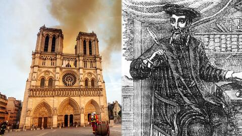 ¿Nostradamus predijo el incendio de la catedral de Notre Dame en París? Esto fue lo que el vidente escribió