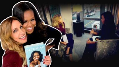 De mujer a mujer: Lili Estefan logró que Michelle Obama hablara de su papel como madre, esposa y primera dama