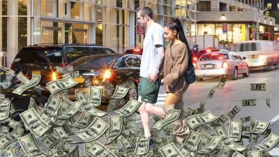 Amor exprés: Ariana Grande se muda con Pete Davidson a un nido más caro que el de JLo