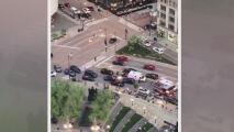 Apuñalan a un hombre en el sendero Riverwalk cuando decenas de personas caminaban por el área