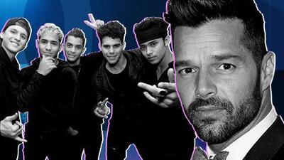 Otra razón que acerca a los chicos de CNCO a Ricky Martin