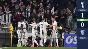 """Kean se viste de Cristiano y la Juventus acaricia el """"Scudetto"""""""