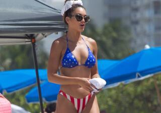 Zuleyka Rivera se lució con un bikini bien chiquito