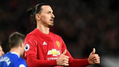 Ibrahimovic rescató un punto para Manchester United ante Everton