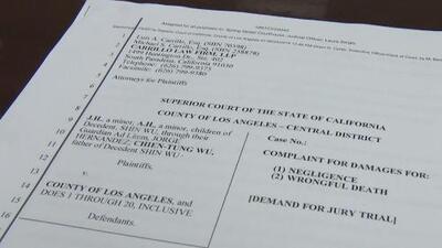 Demandan al condado de Los Ángeles por el suicidio de una madre a la que quitaron la custodia de sus hijos