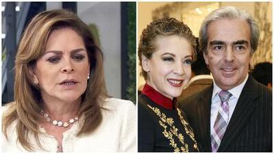 Por una falsa noticia Mara Patricia Castañeda se disculpa con el viudo de Edith González