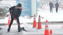 Alerta del tiempo en Chicago por frío intenso, fuertes vientos, lluvia y nieve este lunes