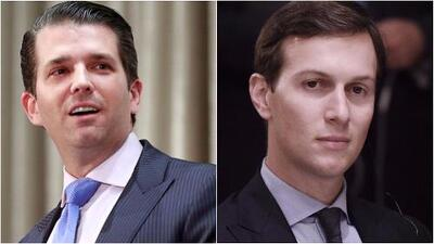 Donald Trump Jr. y Jared Kushner forzados a explicar reunión con una abogada cercana al Kremlin