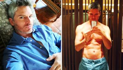 Ramiro Fumazoni fue el fruto prohibido y el tío más sexy en Tres Veces Ana