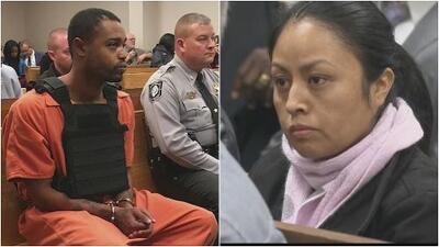La madre de la niña hispana secuestrada y asesinada en Carolina del Norte se encuentra con el presunto asesino de su hija