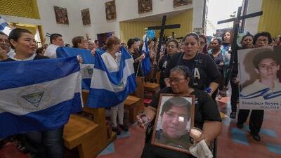 Con una misa, conmemoran el primer aniversario de la masacre del Día de las Madres en Nicaragua