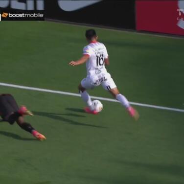 Alajuelense le pone peligro al arco del Atlanta United