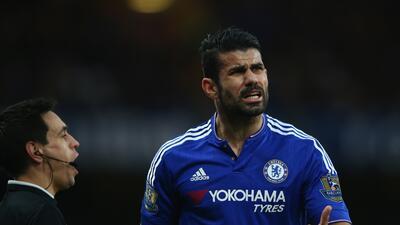 Diego Costa se rompe la nariz en el entrenamiento del Chelsea
