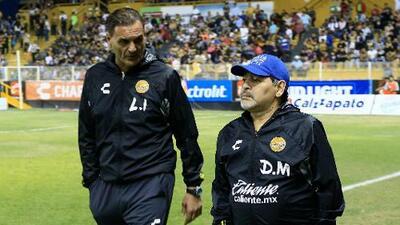 Dorados no renovó a los auxiliares de Maradona, quien no ha reportado a la pretemporada
