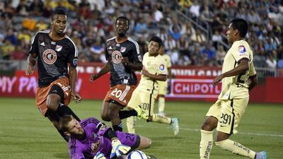 América Sub-20 vence a los Canteranos de la MLS en tanda de penales tras empate 1-1