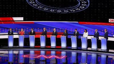 Todos contra el exvicepresidente Joe Biden: así transcurrió la segunda parte del debate demócrata