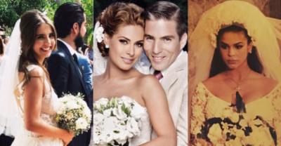 A estas famosas no les importó el qué dirán y se casaron embarazadas