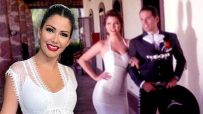 En vísperas de su aniversario, Ana Patricia llegó de blanco para recordar el día que se vistió de novia