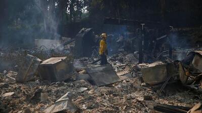 Reducidas a cenizas, así quedaron las mansiones de algunos famosos en el incendio de Malibú