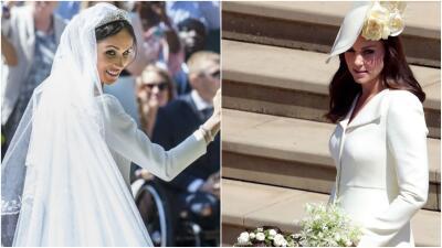 Cómo el vestido de Kate se robó la boda de Meghan (y por la razón equivocada)
