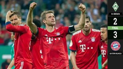 Bayern Munich calificó a la Final de la Pokal