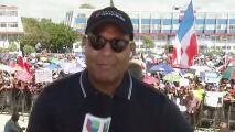 Desde República Dominicana, Tony Dandrades informó sobre la protesta masiva en el día de su independencia