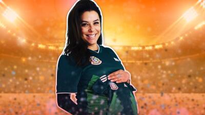Esta es la primera foto (muy futbolera y mexicana) del bebé de Eva Longoria