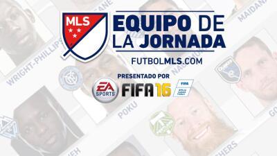Equipo de la Jornada 24 de la MLS, presentado por EA SPORTS FIFA 16