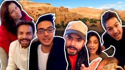 """""""Estamos de regreso"""": el anuncio de los Derbez después de estar 'desaparecidos' un mes de las redes sociales"""