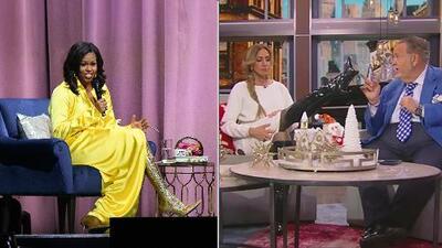 Las botas de 4,000 dólares con las que Michelle Obama impresionó a Lili Estefan y Clarissa Molina